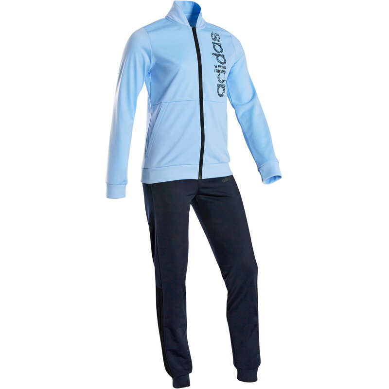 GIRL EDUCATIONAL GYM COLD WEATHER APP - Girls' Tracksuit - Blue ADIDAS