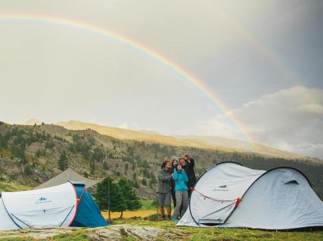 Découvrez nos conseils camping et bivouac montagne quechua decathlon