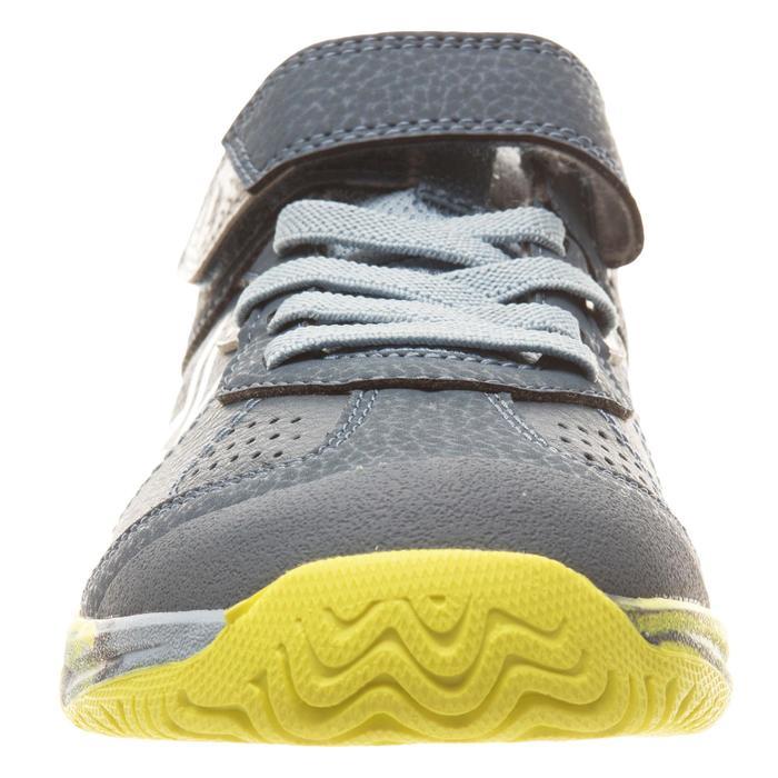 Tennisschoenen voor kinderen Artengo TS160 camouflagegeel