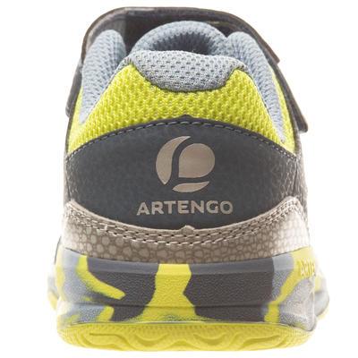 حذاء تنس TS760 للأطفال - أصفر مموه