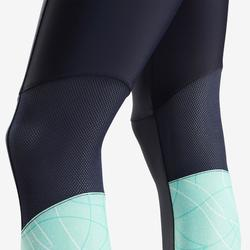 Leggings transpirables S900 niña GIMNASIA INFANTIL azul AOP