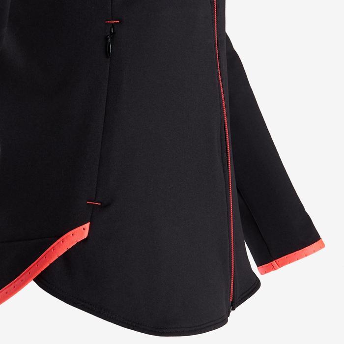 Warm en ademend vest S900 meisjes GYM KINDEREN zwart