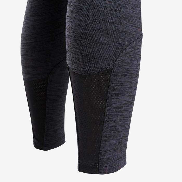Warm en ademend synthetisch trainingspak voor meisjes, voor gym, S500 roze grijs