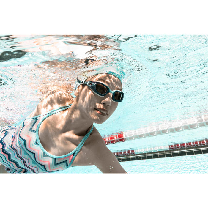 LENS -2 FOR SWIMMING GOGGLES 500 SELFIT SIZE L SMOKE