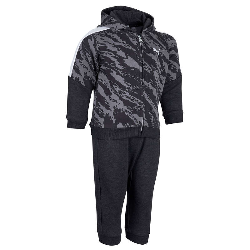 BABY GYM APPAREL Baby and Toddlers - Tracksuit - Grey/Black PUMA - Kids