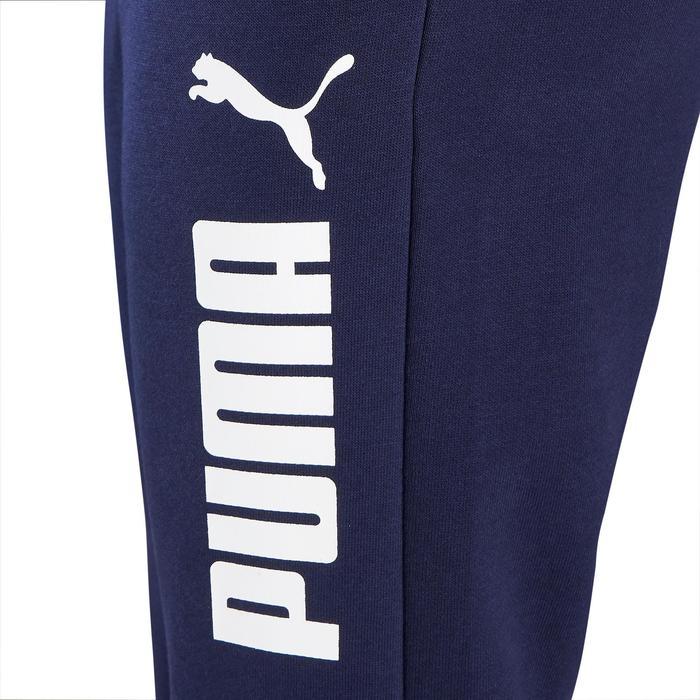 Pantalón Largo Chándal Gimnasia Puma 100 Niño Azul