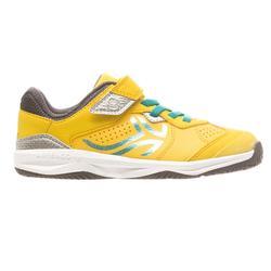 TS160 兒童網球鞋 - 黃色