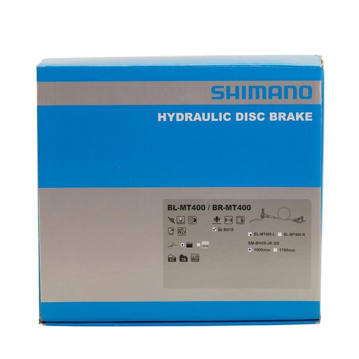 Hydraulische schijfrem vooraan Shimano