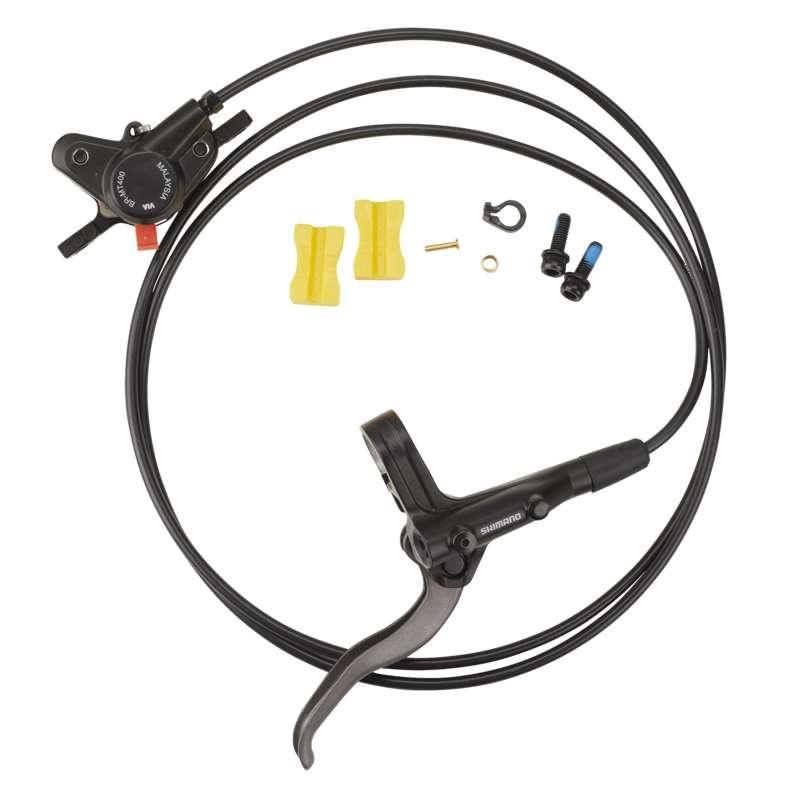 BIKE BRAKE Cycling - Hydraulic Rear Disc Brake Set SHIMANO - Bike Brakes and Transmission