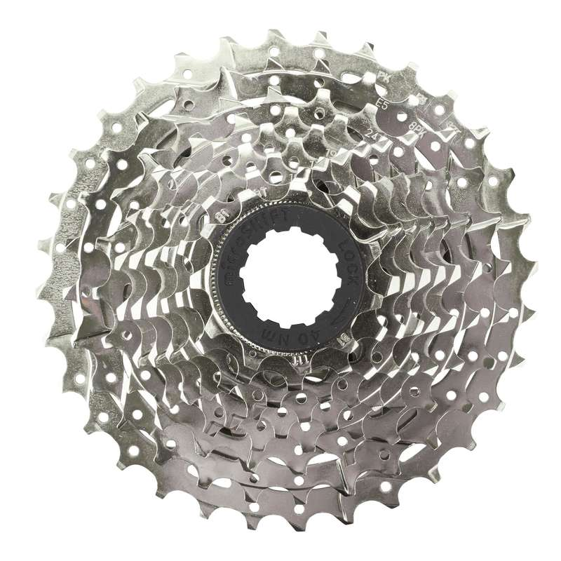 BIKE GEARING Cycling - 11x32 9 Speed Bike Cassette BTWIN - Bike Brakes and Transmission