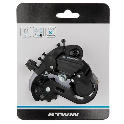 3 to 6 Speed Rear Derailleur
