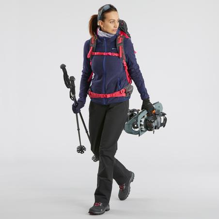 Pantalon de randonnée neige femme SH520 x-warm noir