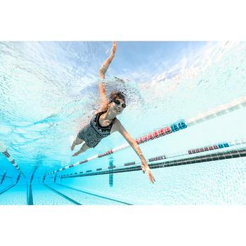 Montuur voor zwembrilletje 500 Selfit maat L oranje blauw