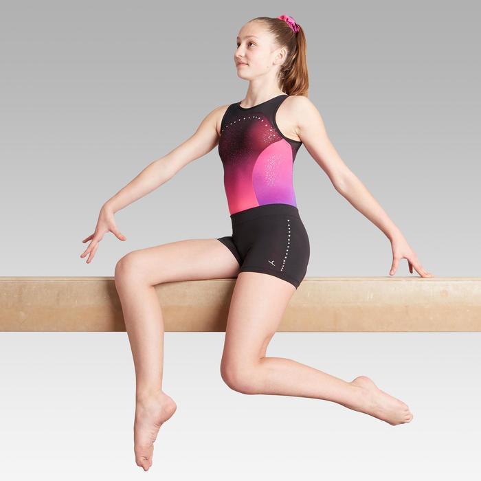 Short noir strass 900 Gymnastique Artistique Féminine