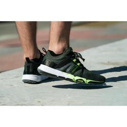 Herensneakers voor sportief wandelen PW 540 Flex-H+ kaki/ groen