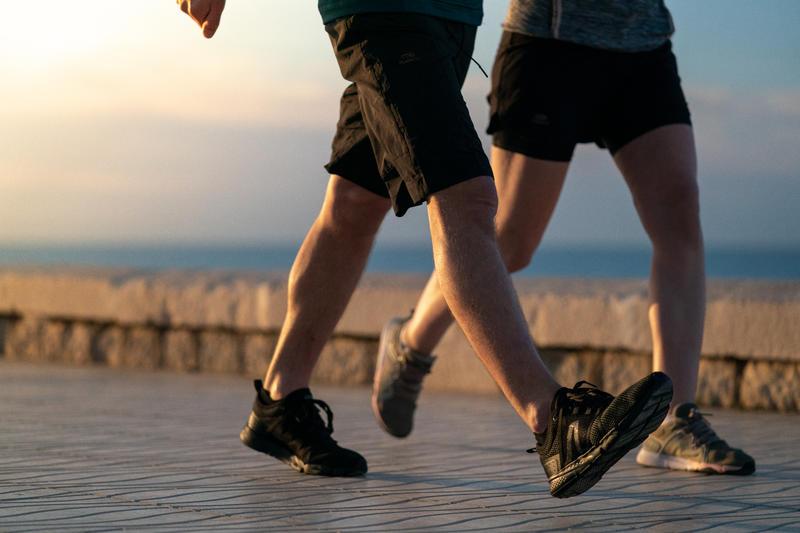 Walking Shoes for Men -PW 540 Comfort - Full Black