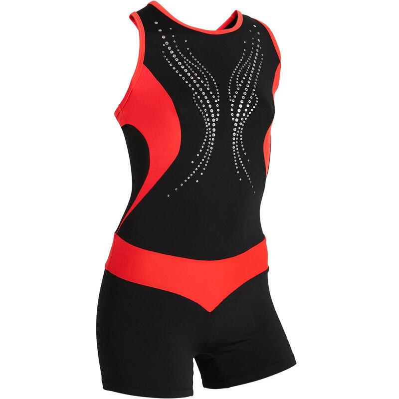 Combinezon gimnastică artistică feminină 500