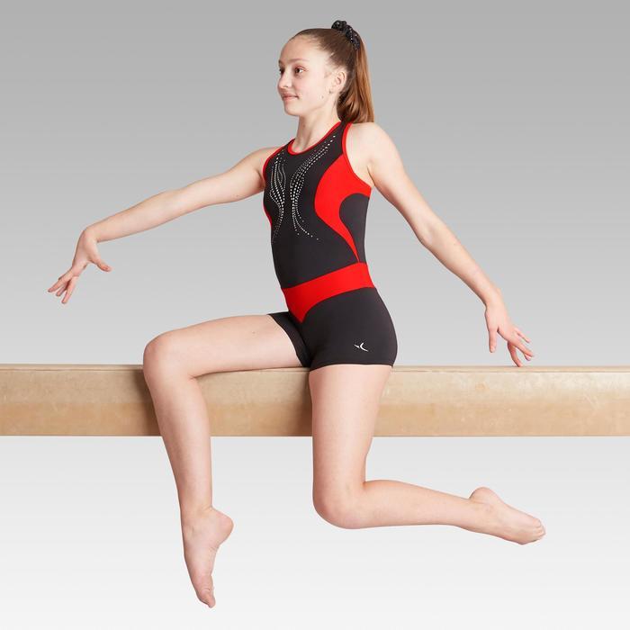 Monoshort de gimnasia artística femenina 500