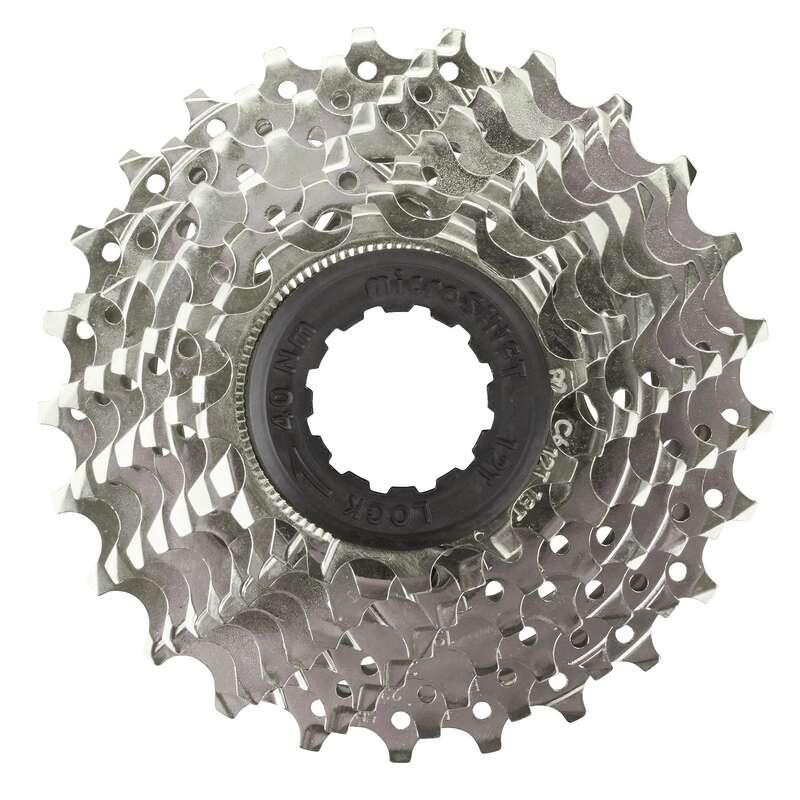 TRASMISSIONE BICI Ciclismo, Bici - Cassetta 8 velocità 12X25 BTWIN - PEZZI DI RICAMBIO MTB AM