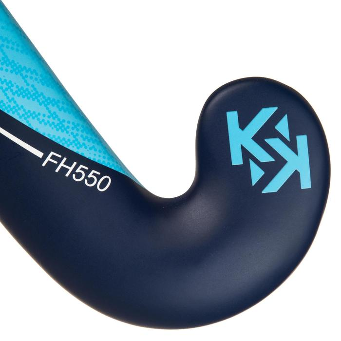 Stick de hockey sur gazon adulte confirmé Lowbow 50% carbone FH550