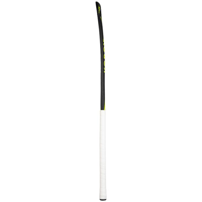 Stick de hockey sur gazon adulte expert Midbow 95% carbone FH990 jaune