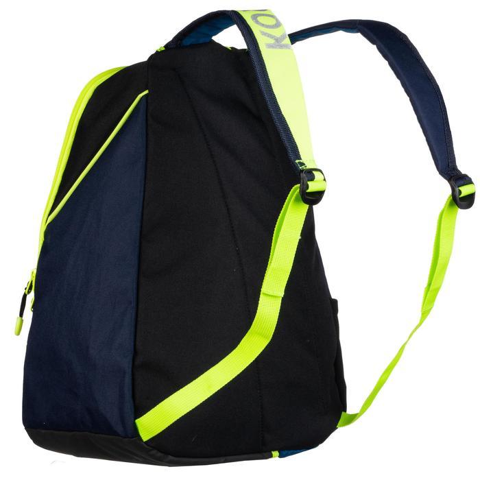 sac à dos de hockey sur gazon FH100 enfant bleu et jaune