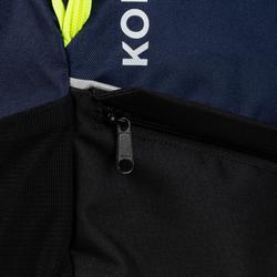 Mochila hockey hierba Korok FH100 niños azul y amarillo