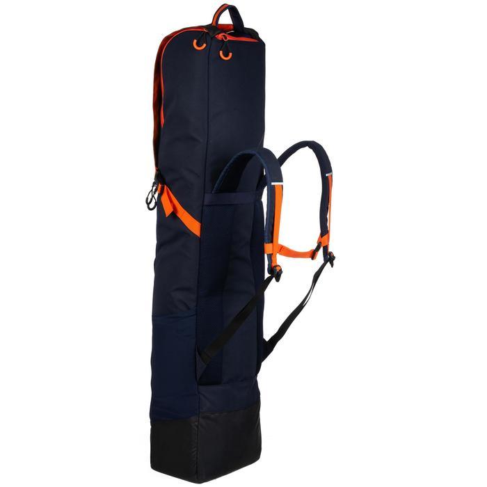 Housse de hockey sur gazon volume moyen FH540 bleu et orange