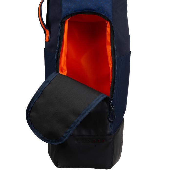 Schlägertasche FH540 Feldhockey mittel blau/orange