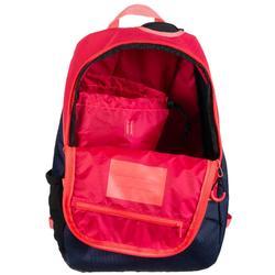 sac à dos de hockey sur gazon FH100 enfant bleu et rose