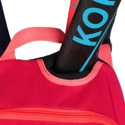 Mochila hockey hierba Korok FH100 niños azul y rosa
