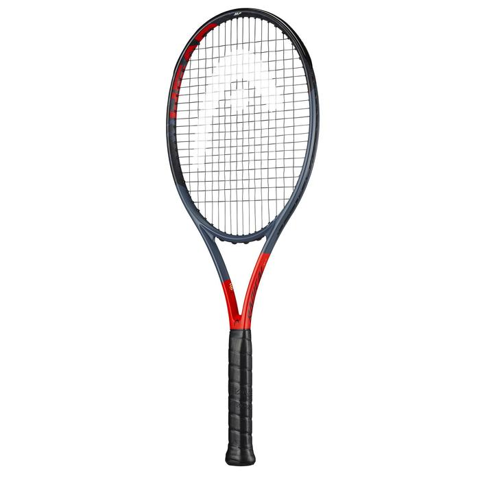 RAQUETTE DE TENNIS ADULTE GRAPHENE 360 RADICAL MP GRIS ORANGE