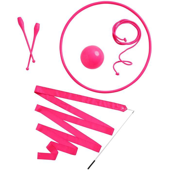 Aro de Gimnasia Rítmica de 65 cm rosa