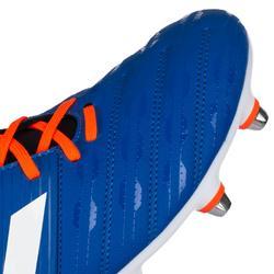 Chaussure de rugby Hybride Malice Bleu orange