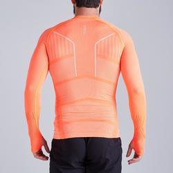 Camiseta Térmica Kipsta Keepdry 500 adulto naranja