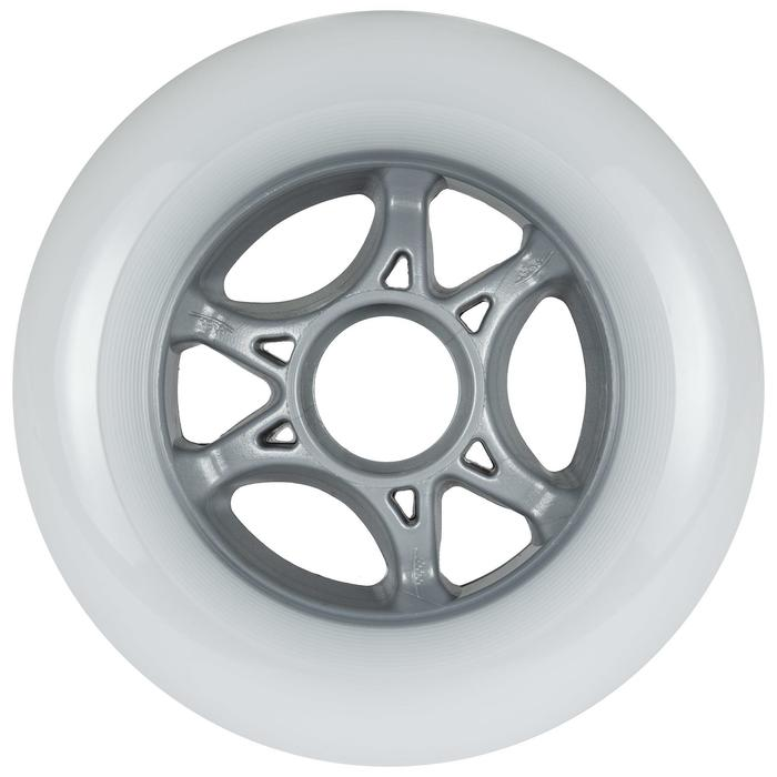 3 roues roller adulte POWERSLIDE INFINTY 100mm 85A blanches
