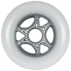 3 ruedas roller adulto POWERSLIDE INFINTY 100 mm 85A blanco