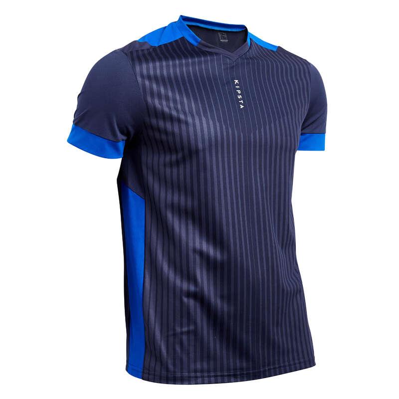 ABBIGLIAMENTO CALCIO ADULTO LEGGERO Sport di squadra - Maglia calcio F500 blu KIPSTA - Abbigliamento calcio