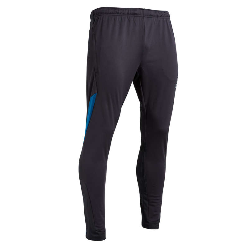 AD COLD WEATHER OUTFIT Football - Adult T500 - Black/Blue KIPSTA - Football Clothing