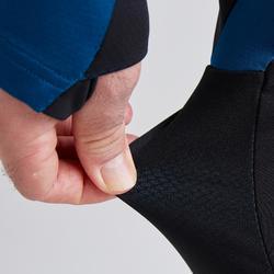 Voetbalbroek voor volwassenen T500 limited edition zwart/blauw