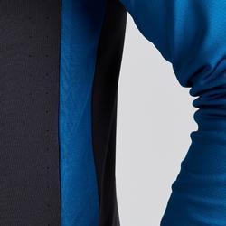 Voetbalsweater voor volwassenen 1/2 rits T500 limited edition petrol/zwart
