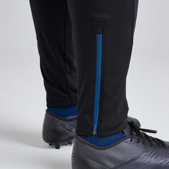 Trainingshose lang T500 Erwachsene schwarz/blau Limited Edition