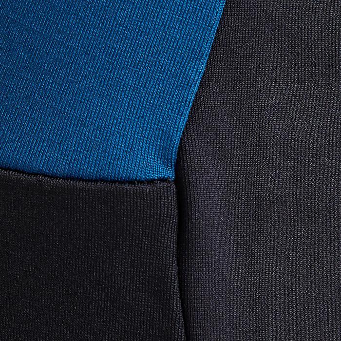 Pantalon de football adulte T500 édition limitée noir bleu