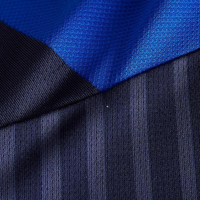 Camiseta de Fútbol adulto Kipsta F500 azul marino