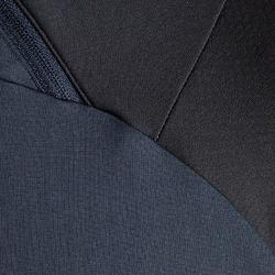 T500 Adult 1/2 Zip Football Training Sweatshirt - Carbon Black