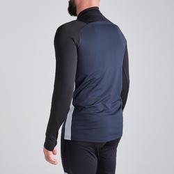 Sweater met halve rits voor volwassenen T500 zwart