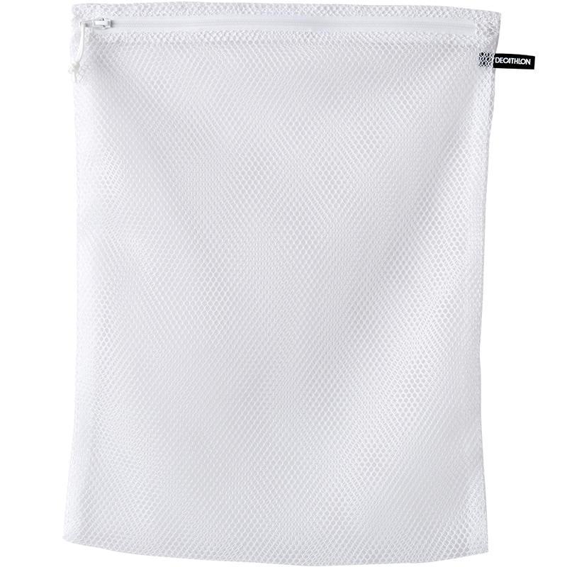 ถุงตาข่ายซักผ้ามีซิปของคาเลนจิ (Kalenji) (สีขาว)