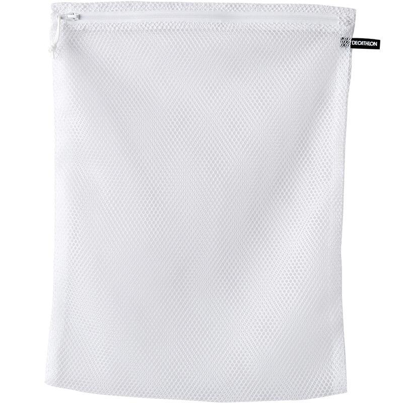 Síťka na praní se zapínáním na zip bílá