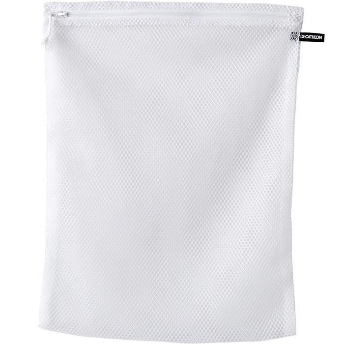 KALENJI LAUNDRY BAG WHITE WITH ZIP