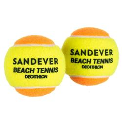 BALLE DE BEACH TENNIS BTB 900 ORANGE S X72